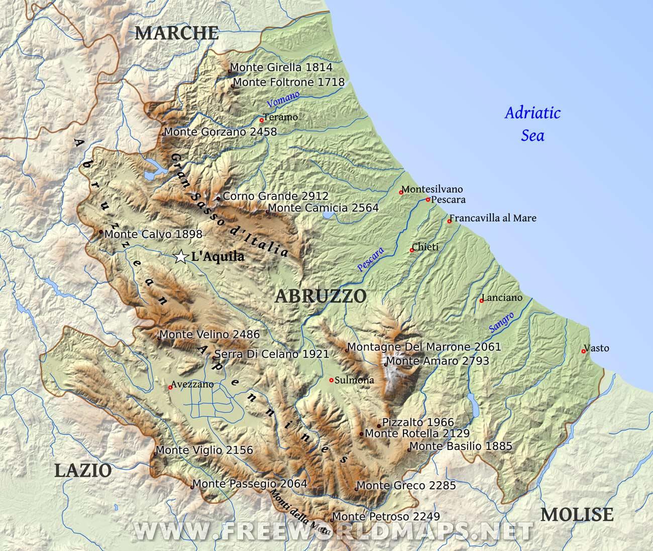 Region of Abruzzo - Italia Mia