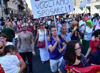 gay rights in italy