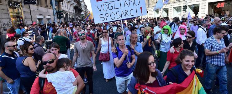 Gay Pride in Milan, June 2015 - AFP/Getty Images