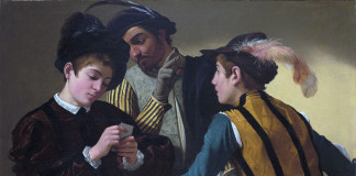 Caravaggio The Cardsharps