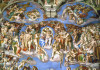 last judgement by Michelangelo