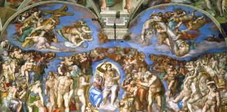 last judgement by Michelangelo