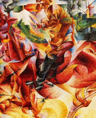 Umberto Boccioni - Elastic