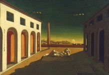 Giorgio de Chirico Melancholia, 1916 The Menil Collection, Houston Photo: Hickey-Robertson, Houston