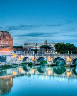 Castel-Santangelo-Mausoleum-of-Hadrian-Parco-Adriano-Rome-Italy-Top-tourist-attractions-Of-Italy