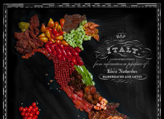 Henry-Hargreaves-and-Caitlin-Levin-Create-Food-Maps-Italy-Made-From-Tomatoes
