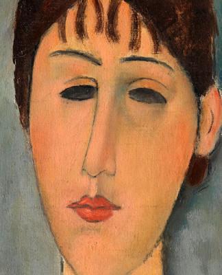 Amedeo Modigliani: Portrait of Mme Zborowska