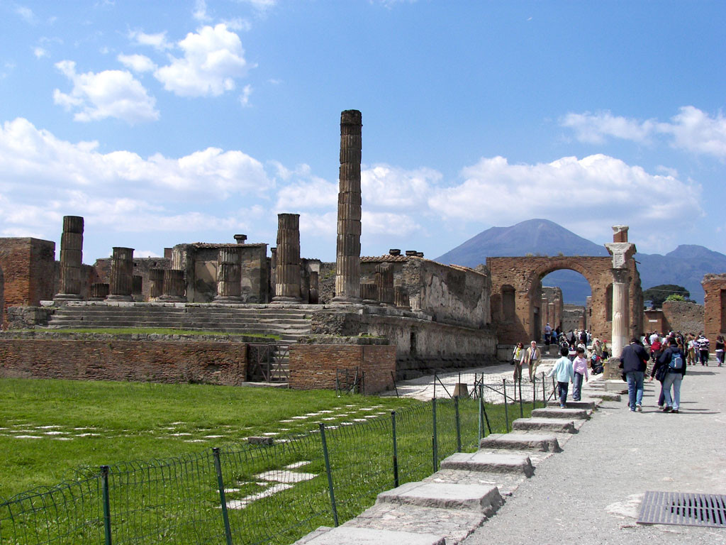 Forum in Pompeii