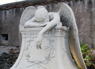 Angel in grief