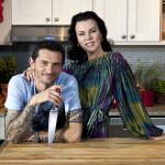 Gabriele Corcos and Debi Mazar of Extra Virgin
