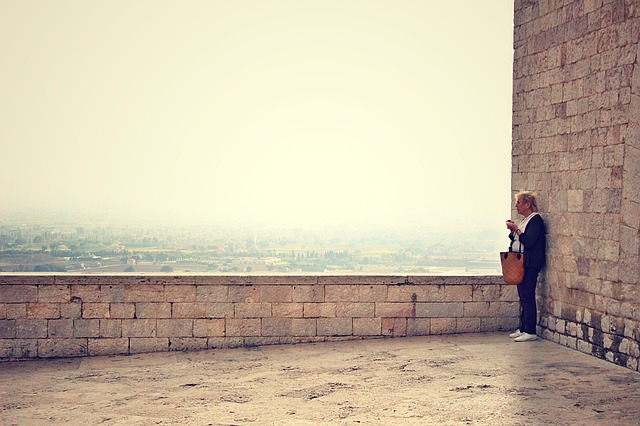 a person, person, assisi