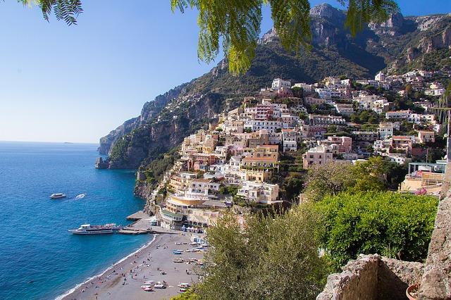 amalfi coast, italy, mediterranean