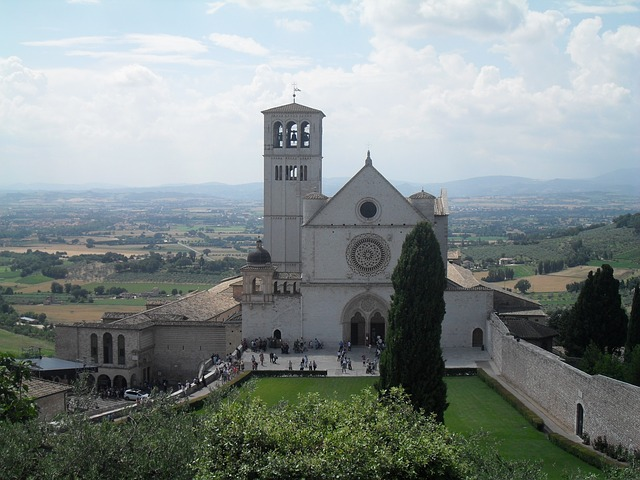assisi, church, italy