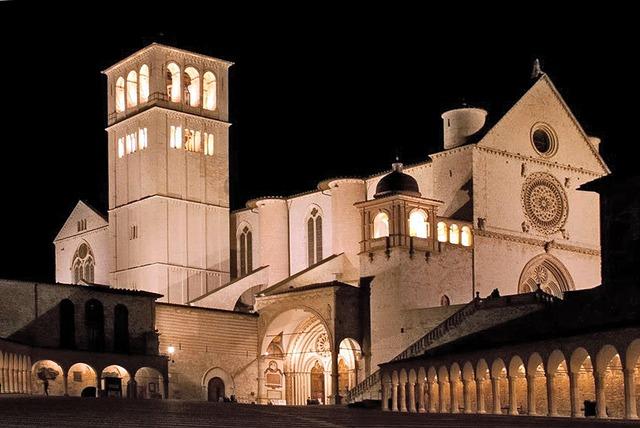 assisi, monastery, church