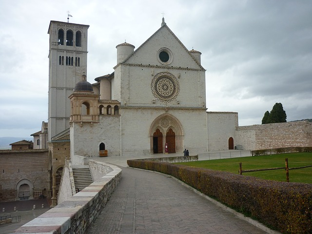 assisi, umbria, basilica