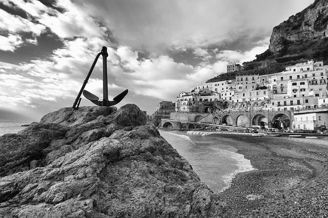 atrani, amalfi coast, campania