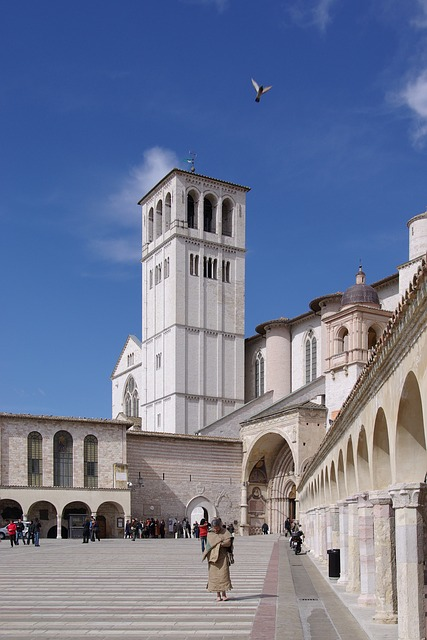 basilica, basilica of san francesco, assisi