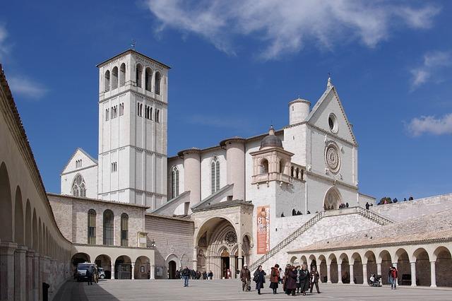 basilica, francis of assisi, church