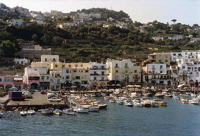 capri, island, touring