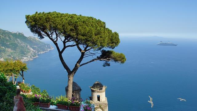 italy, amalfi coast, ravella
