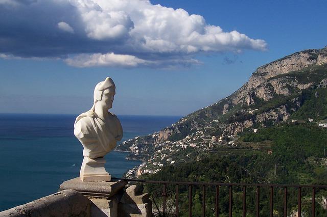 italy, amalfi coast, ravello