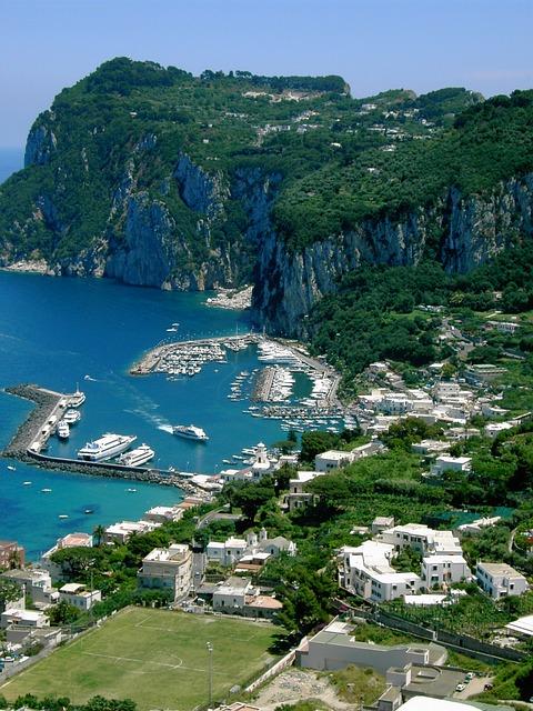 italy, island, capri