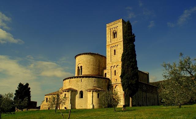 montalcino, tuscan, italia