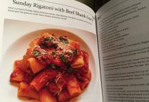 Sunday rigatoni with Beef Shank Gravy Cookbook