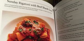 Sunday rigatoni with Beef Shank Gravy Cookbook