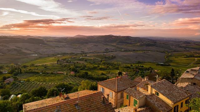 tuscany, italy, view