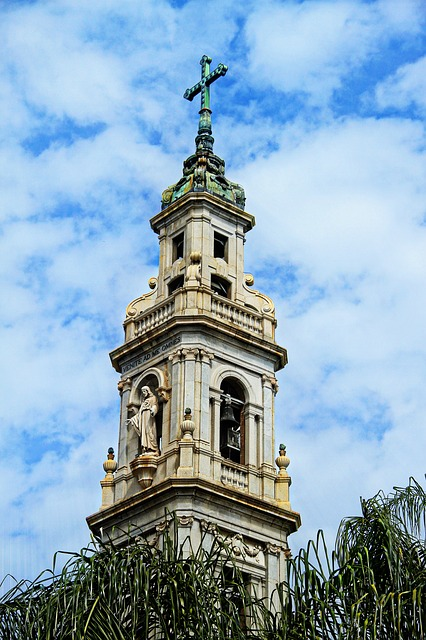 bell tower, church, italy