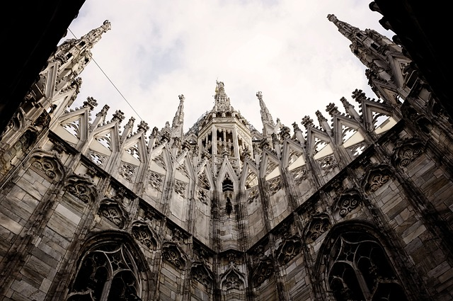 church, milan, italy