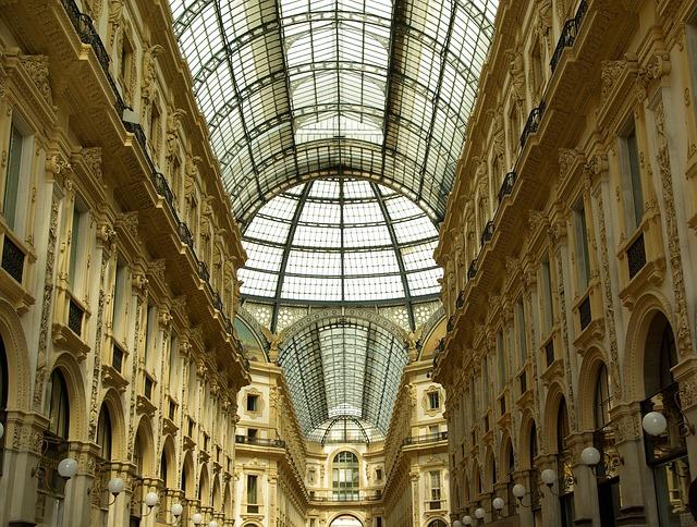 italy, milan, gallery