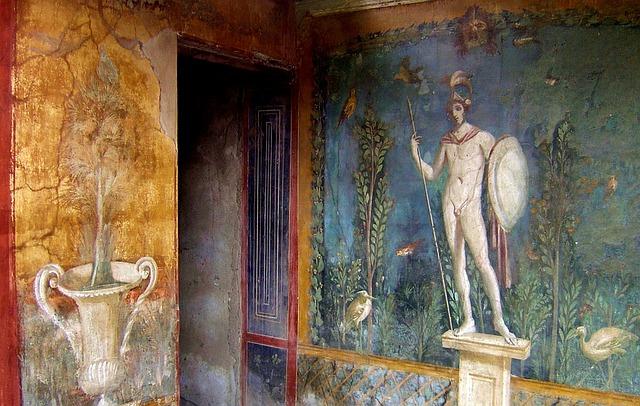 italy, pompeii, antiquity