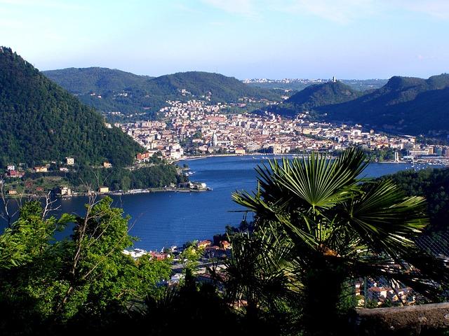 lake como, italy, city