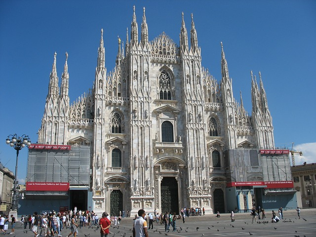 milan cathedral, milan, cathedral
