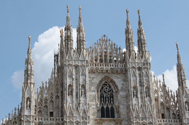milan, dom, architecture