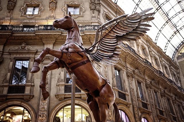 milan, pegasus, gallery