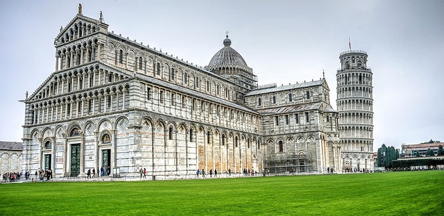 pisa, italy, leaning tower