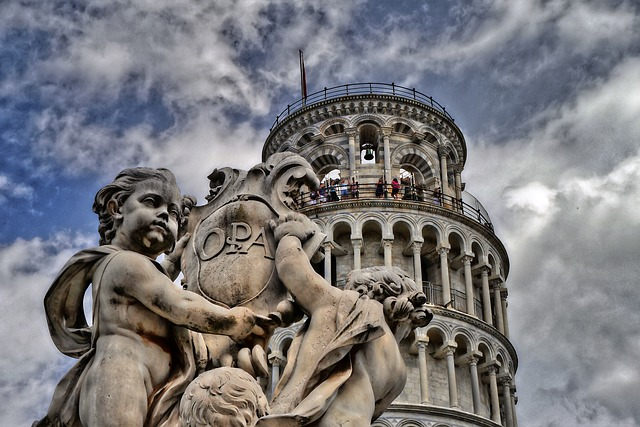 pisa, leaning tower, tuscany