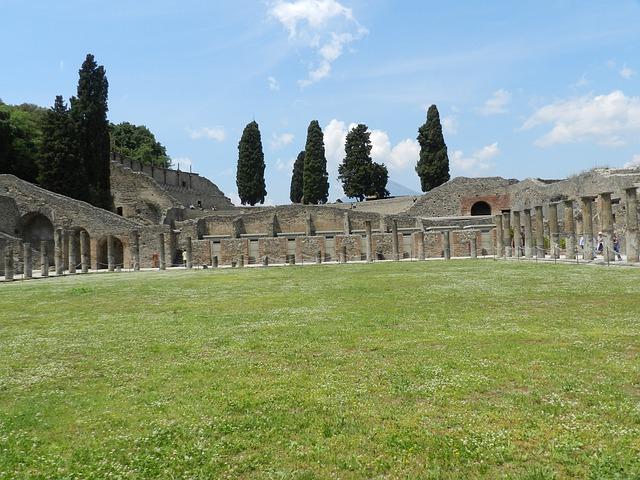 pompeii, italy, city