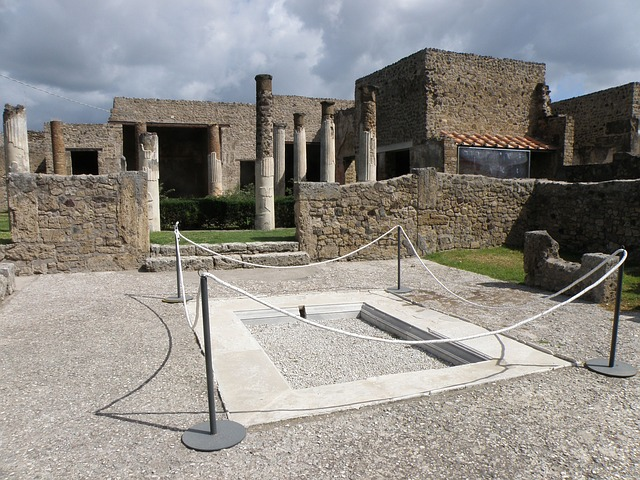 pompeii, italy, history