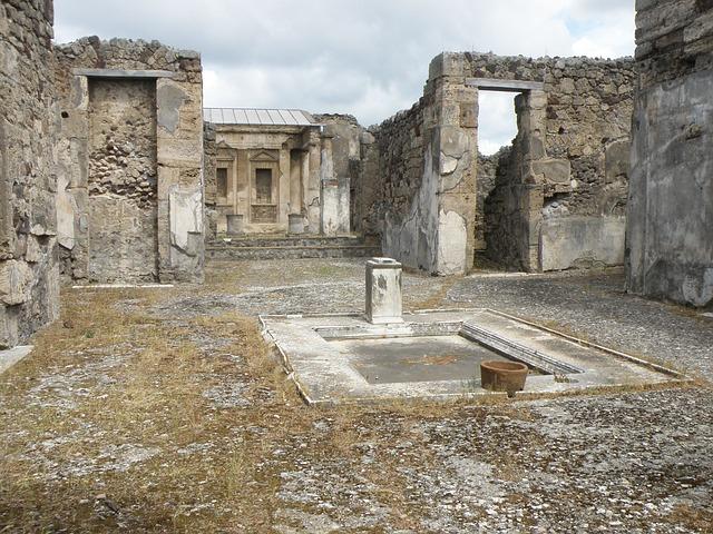 pompeii, italy, naples