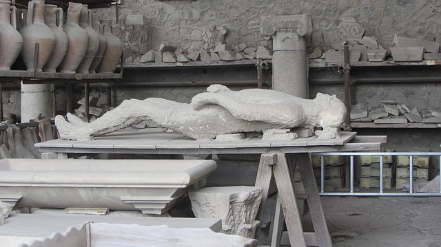 pompeii, restoration, body