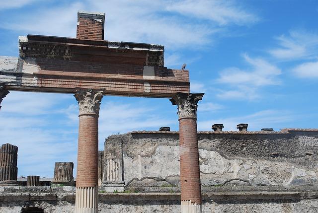 pompeii, ruins, italy