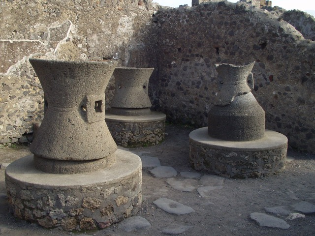 pots, vessels, old