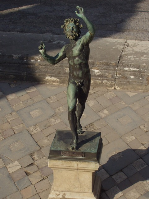 statue, copper, old