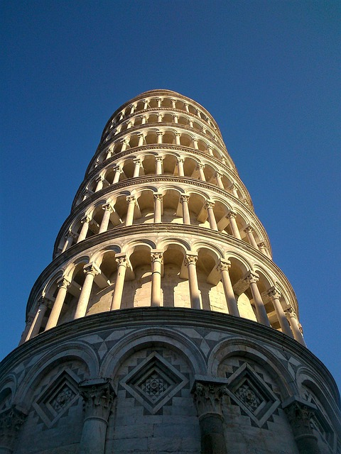 the leaning tower, pisa, tuscany