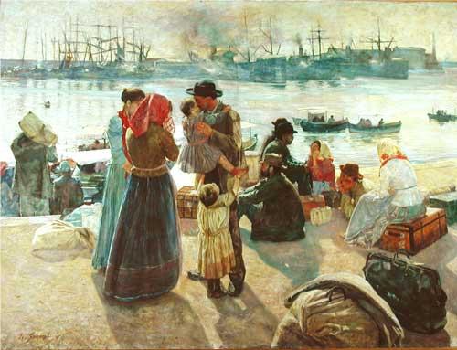 Italian immigrants 1890