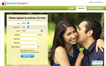 italianosingles.com sign up